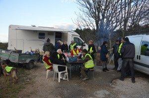 DSC_0086-le campement des Gilets Jaunes à Beaucaire